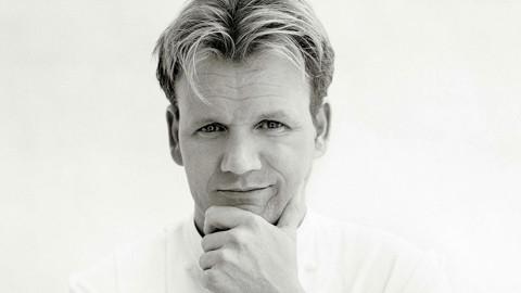 和顶级大厨Gordon Ramsay学做菜