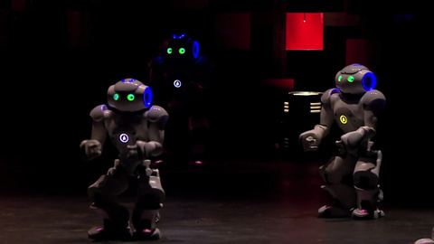 舞动吧,小机器人们!